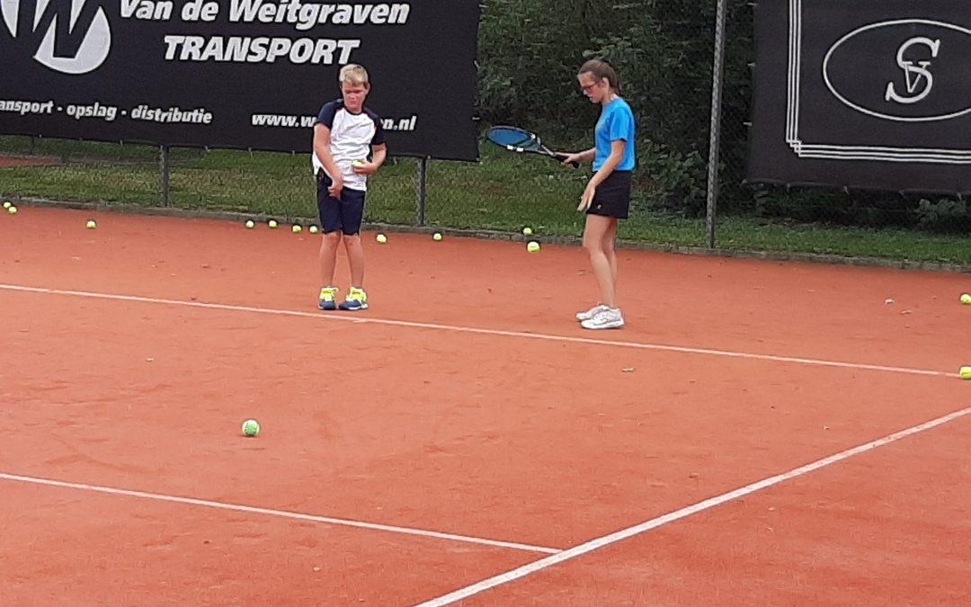 Tennismiddag voor kinderen Vale Ouwe
