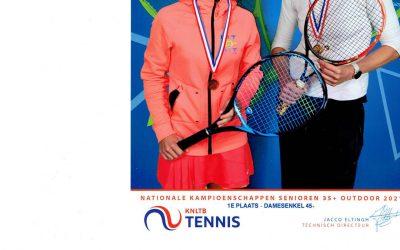 Helma kampioen van Nederland in de 45+